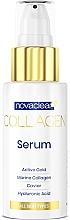 Düfte, Parfümerie und Kosmetik Kollagen-Gesichtsserum mit Kaviar und Hyaluronsäure - Novaclear Collagen Serum