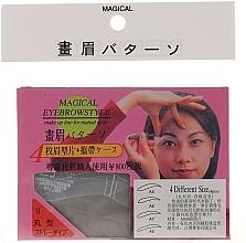 Düfte, Parfümerie und Kosmetik Augenbrauenschablonen Größe A5, A6, A7, A8 - Magical Eyebrow Style
