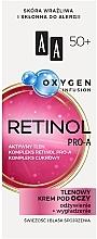 Düfte, Parfümerie und Kosmetik Sauerstoff-Augenkonturcreme mit Retinol 50+ - AA Oxygen Infusion Retinol Pro-A Eye Cream