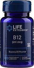 Düfte, Parfümerie und Kosmetik Nahrungsergänzungsmittel Vitamin B12 500 mcg 100 Pastillen - Life Extension B-12