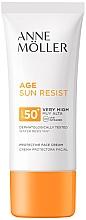 Düfte, Parfümerie und Kosmetik Sonnenschutzcreme für das Gesicht SPF 50+ - Anne Moller Age Sun Resist Protective Face Cream SPF50+