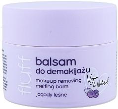 Düfte, Parfümerie und Kosmetik Make-up Entferner mit wilden Blaubeeren - Fluff Makeup Remover Balm Wild Blueberries