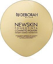 Düfte, Parfümerie und Kosmetik Kompaktpuder-Base - Deborah New Skin Compact Foundation