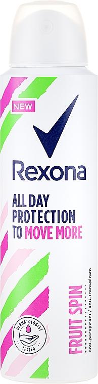 Deospray Antitranspirant - Rexona Fruit Spin Antiperspirant Deodorant Spray
