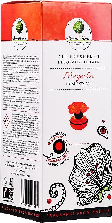 Raumerfrischer mit Weißblüten- und Magnolienduft - Aroma & More Air Freshener