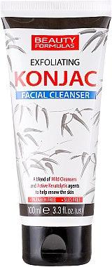 Gesichtsreinigungsgel - Beauty Formulas Exfoliating Konjac Facial Cleanser