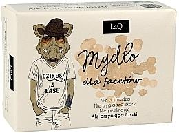 Düfte, Parfümerie und Kosmetik Männerseife mit Aktivkohle - LaQ Men Soap With Activated Carbon