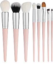 Düfte, Parfümerie und Kosmetik Make-up Pinselset in Kosmetiktasche Must Have. Pink  8 St. - Colordance