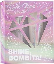 Düfte, Parfümerie und Kosmetik Körperpflegeset - 7 Days Shine, Bombita! Light Pink (Körpernebel 135ml + Körpermilch 150ml)