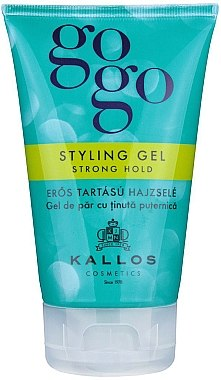 Haargel - Kallos Cosmetics Gogo Styling Gel Strong Hold  — Bild N1