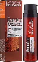 Düfte, Parfümerie und Kosmetik Feuchtigkeitsgel für 3-Tagebart-& Gesichtspflege - L'Oreal Paris Men Expert Barber Club Moisturiser