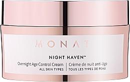 Düfte, Parfümerie und Kosmetik Krem przeciwstarzeniowy do twarzy na noc - Monat Night Haven Overnight Age Control Cream