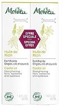 Düfte, Parfümerie und Kosmetik Körperpflegeset - Melvita Huiles De Beaute Castor Oil Duo (Rizinusöl 2x50ml)