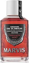 Düfte, Parfümerie und Kosmetik Mundspülung Minze & Zimt - Marvis Concentrate Cinnamon Mint Mouthwash