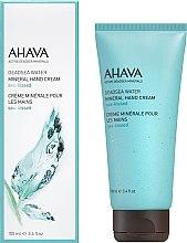 Düfte, Parfümerie und Kosmetik Mineralische Handcreme mit erfrischendem Meeresduft - Ahava Deadsea Water Mineral Hand Cream Sea-Kissed