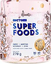 Düfte, Parfümerie und Kosmetik Nahrungsergänzungsmittel Superfoods mit 11 essentiellen Vitaminen und Zink mit Mangogeschmack - Oh!Tomi Superfoods Vitamins