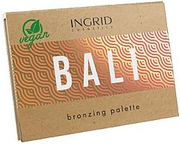 Düfte, Parfümerie und Kosmetik Bronzer-Palette - Ingrid Cosmetics Bali Bronzing Palette