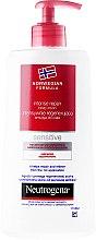 Düfte, Parfümerie und Kosmetik Regenerierende Körperlotion für sehr trockene und gereizte Haut - Neutrogena Norwegian Formula Intense Repair Body Lotion