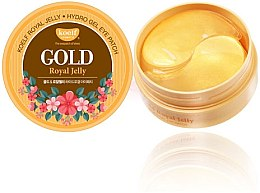 Düfte, Parfümerie und Kosmetik Hydrogel-Augenpatches mit Gold und Gelée Royale - Petitfee & Koelf Gold & Royal Jelly Eye Patch