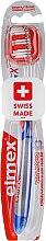 Düfte, Parfümerie und Kosmetik Zahnbürste mittel Caries Protection InterX blau-rot - Elmex Toothbrush Caries Protection InterX Medium