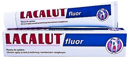 Zahnpasta Fluor - Lacalut Fluor — Bild N1