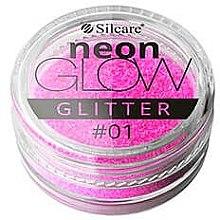 Düfte, Parfümerie und Kosmetik Glitterpuder für Nägel - Silcare Brokat Neon Glow