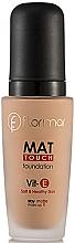 Düfte, Parfümerie und Kosmetik Mattierende Foundation - Flormar Mat Touch Foundation