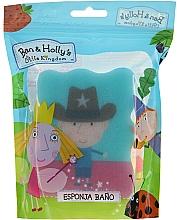 Düfte, Parfümerie und Kosmetik Kinder-Badeschwamm Ben & Holly Ben Sheriff blau - Suavipiel Ben & Holly Bath Sponge