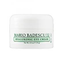 Düfte, Parfümerie und Kosmetik Feuchtigkeitsspendende und glättende Creme für die Augenpartie mit Hyaluronsäure - Mario Badescu Hyaluronic Eye Cream