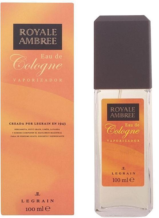 Legrain Royale Ambree - Eau de Cologne Spray