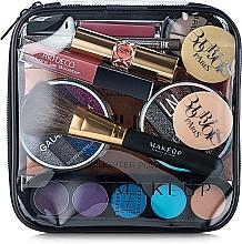 Düfte, Parfümerie und Kosmetik Kosmetiktasche Visible Bag transparent 17x17x6 cm - MakeUp