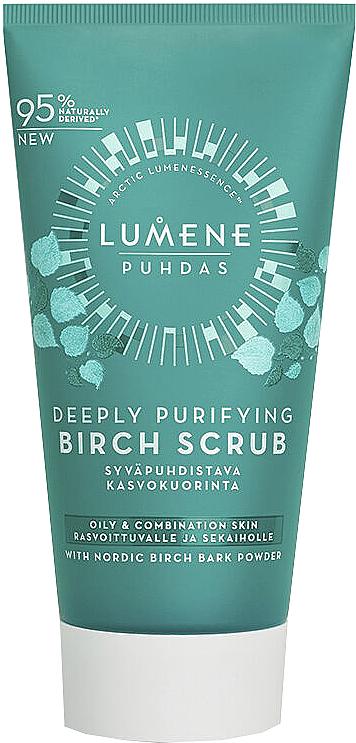 Tiefenreinigendes Gesichtspeeling mit Birkenextrakt - Lumene Puhdas Deeply Purifying Birch Scrub
