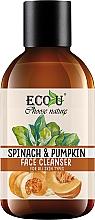 Düfte, Parfümerie und Kosmetik Gesichtsreinigeungsgel für alle Hauttypen mit Spinat und Kürbis - Eco U Pumpkins And Spinach Face Cleanser