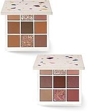 Düfte, Parfümerie und Kosmetik Lidschattenpalette - Holika Holika 2019 Holiday Terrazzo Shadow Palette