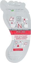 Düfte, Parfümerie und Kosmetik Fußcreme-Peeling mit Salicylsäure und Teebaumöl - Bielenda ANX Podo Detox Foot Scrub Cream