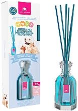 Düfte, Parfümerie und Kosmetik Aroma-Diffusor mit Duftstäbchen gegen Haustiergerüche Frische Luft - Cristalinas Reed Diffuser