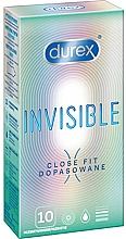 Düfte, Parfümerie und Kosmetik Kondome 10 St. - Durex Invisible Close Fit