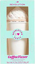 Düfte, Parfümerie und Kosmetik Badebombe Kaffee - I Heart Revolution Coffee Bath Fizzer