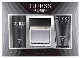 Düfte, Parfümerie und Kosmetik Guess Seductive Homme - Duftset (Eau de Toilette 100 + Deospray 226ml + Duschgel 200ml)