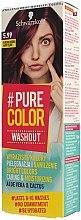 Düfte, Parfümerie und Kosmetik Auswaschbare Gel-Haarfarbe - Schwarzkopf Pure Color Washout