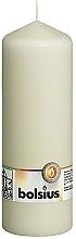 Düfte, Parfümerie und Kosmetik Dekorative Kerze in Zylinderform creme - Bolsius Candle 200x70 mm