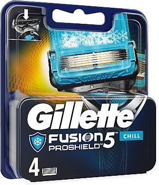 Gillette Fusion ProGlide Ersatzklingen - Gillette Fusion Proshield Chill