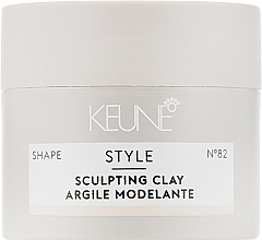 Düfte, Parfümerie und Kosmetik Starkes Styling-Clay mit mattem Finish für alle Haartypen №82 - Keune Style Sculpting Clay (Mini)