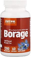 Düfte, Parfümerie und Kosmetik Nahrungsergänzungsmittel Borretsch - Jarrow Formulas Borage GLA-240