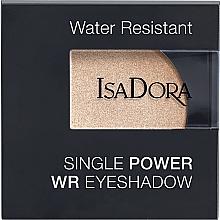 Düfte, Parfümerie und Kosmetik Lidschatten - IsaDora Single Power WR Eyeshadow