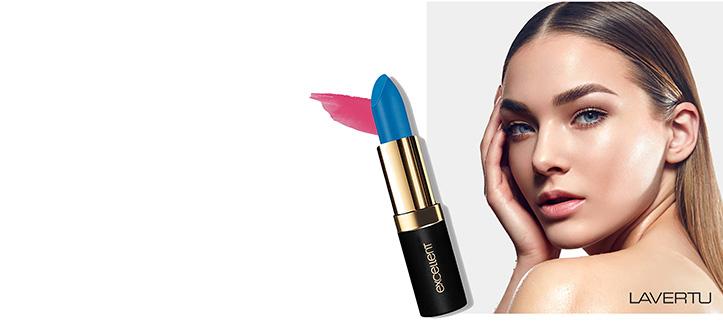 Sie erhalten einen Lippenstift geschenkt beim Kauf eines Produktes der Marke Lavertu Cosmetics