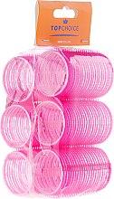 Düfte, Parfümerie und Kosmetik Klettwickler 0386 38mm 6 St. - Top Choice Hair Roller