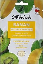 Düfte, Parfümerie und Kosmetik Belebende Gesichtsmaske mit Banana und Kiwi - Gracja Energizing Mask