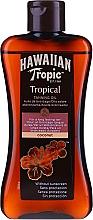 Düfte, Parfümerie und Kosmetik Bräunungsöl mit Kokosnuss - Hawaiian Tropic Coconut Tropical Tanning Oil