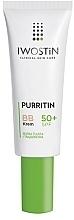 Düfte, Parfümerie und Kosmetik Schützende BB Gesichtscreme für fettige und Aknehaut SPF 50+ - Iwostin Purritin BB Cream SPF 50+